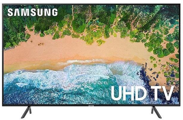 4. شاشة سمارت ألترا إتش دي UHD بحجم 75 بوصة من الفئة السابعة (UA75NU7100SXEG)