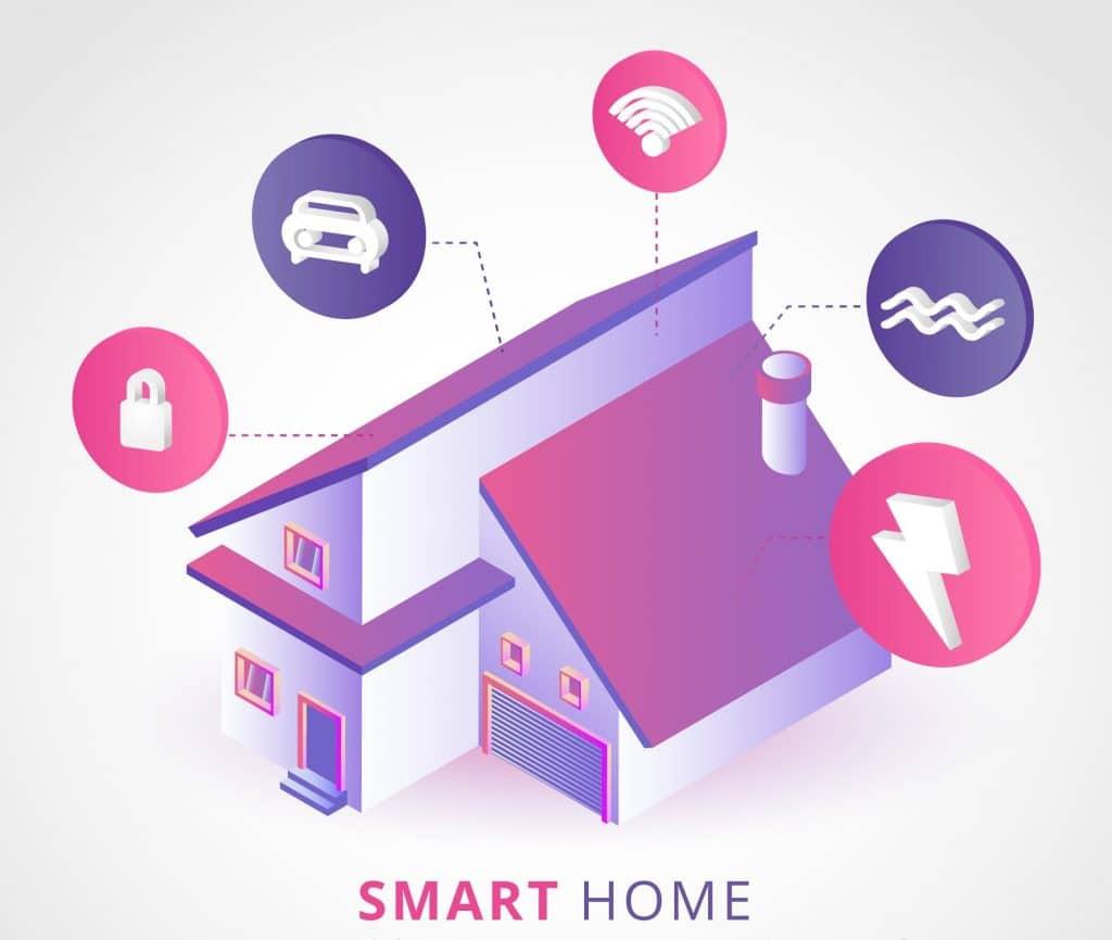 المنزل الذكي هو أحد أبرز تطبيقات الذكاء الاصطناعي