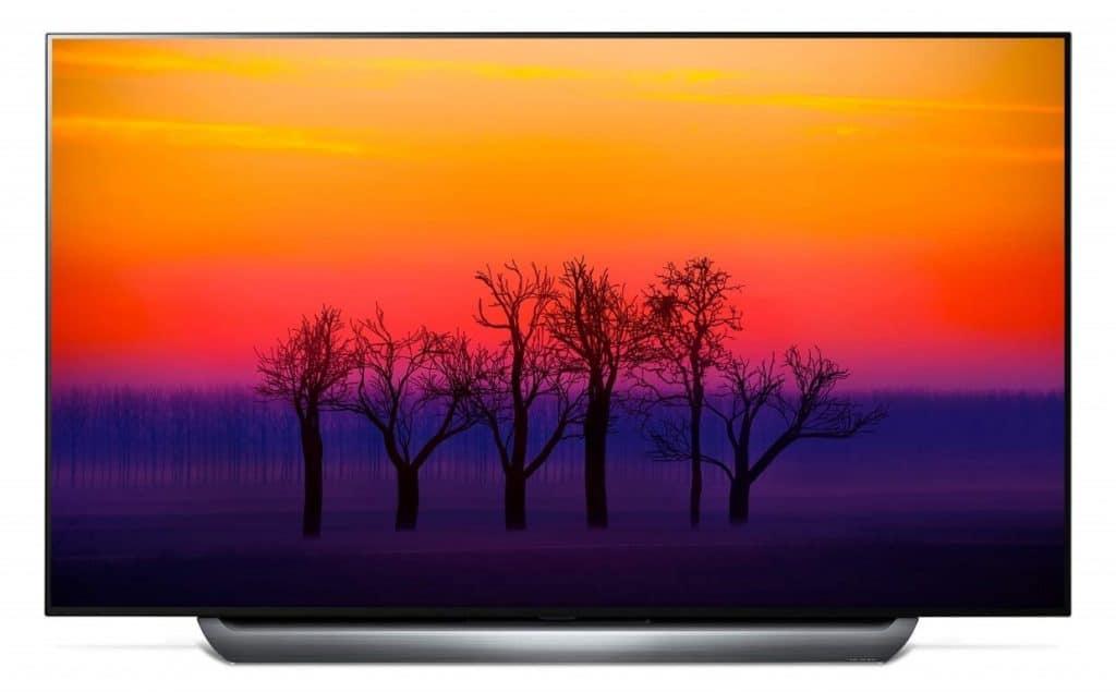 شاشة LG ذكية أو إل إي دي OLED تتمتع بخاصية ألترا إتش دي UHD بحجم 55 بوصة