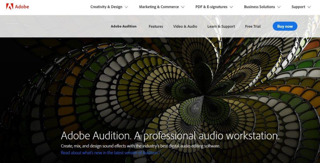 برنامج Adobe Audition