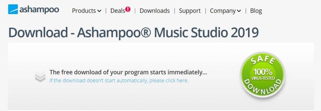 برنامج Ashampoo Music Studio 2019