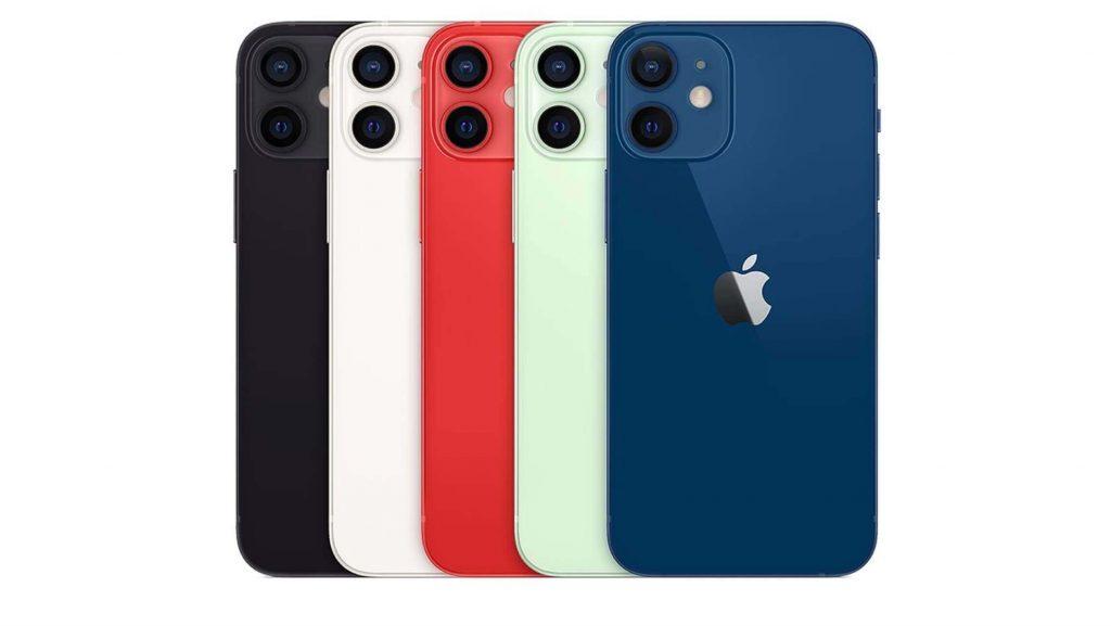 ألوان ايفون 12