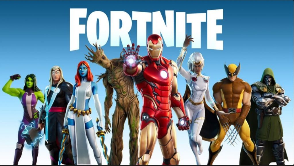 لعبة Fortnite Battle Royale